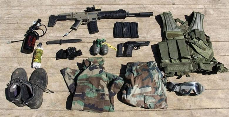 airsoft protective gear