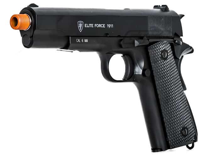 ELITE FORCE FULL METAL M1911 A1 WWII AIRSOFT CO2 BLOWBACK PISTOL Review