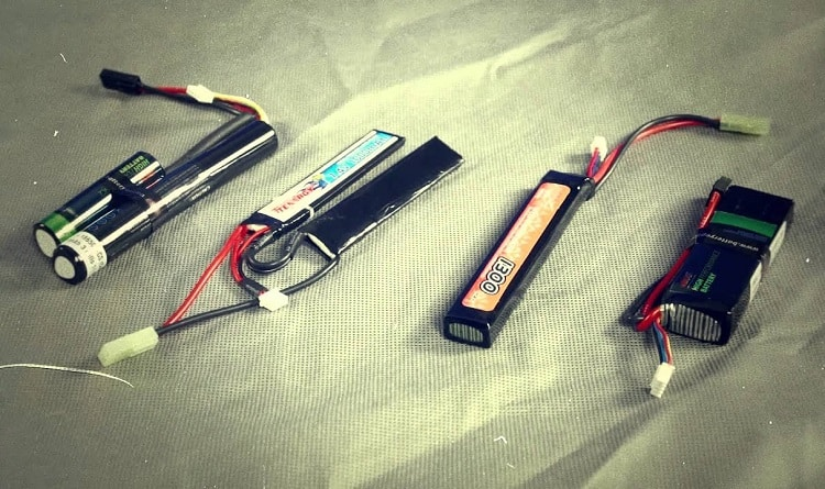 Different Airsoft Batteries