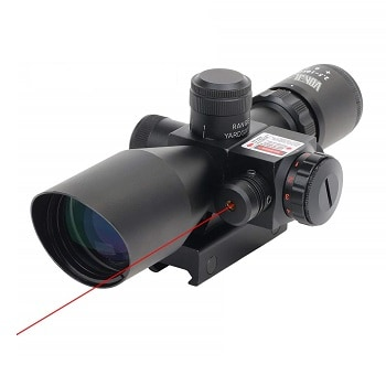 GOHIKING 2.5-10x40 Hunting Rifle Scope