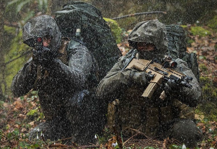 Airsoft In The Rain