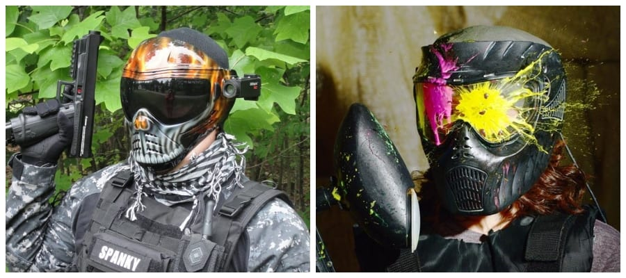 Paintball Airsoft eye protection